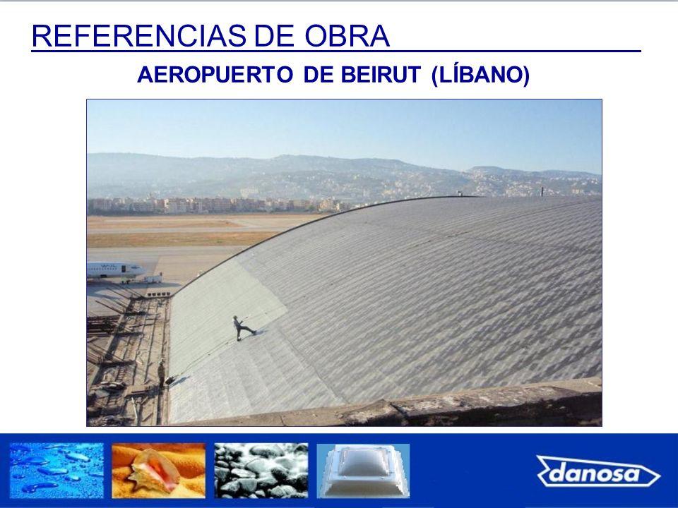 REFERENCIAS DE OBRA AEROPUERTO DE BEIRUT (LÍBANO)