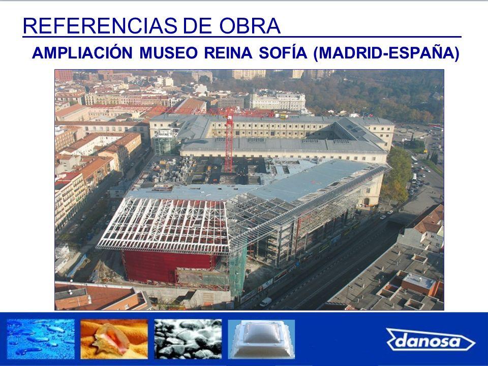 REFERENCIAS DE OBRA AMPLIACIÓN MUSEO REINA SOFÍA (MADRID-ESPAÑA)