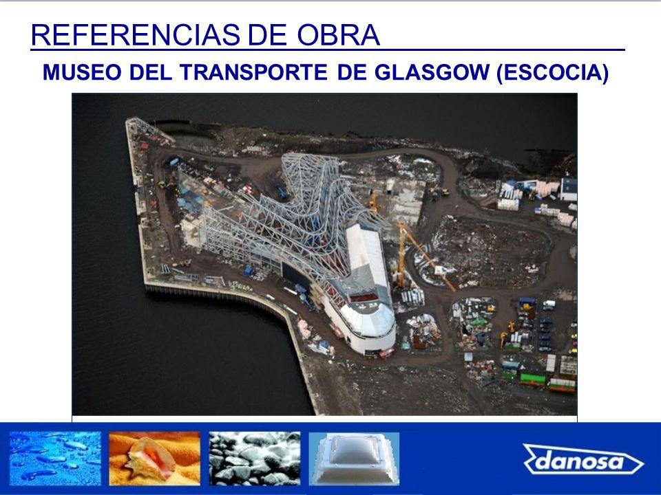 REFERENCIAS DE OBRA MUSEO DEL TRANSPORTE DE GLASGOW (ESCOCIA)