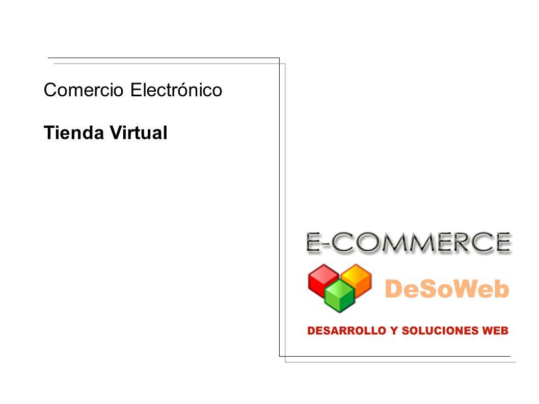 Comercio Electrónico Tienda Virtual