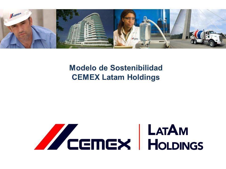Modelo de Sostenibilidad CEMEX Latam Holdings