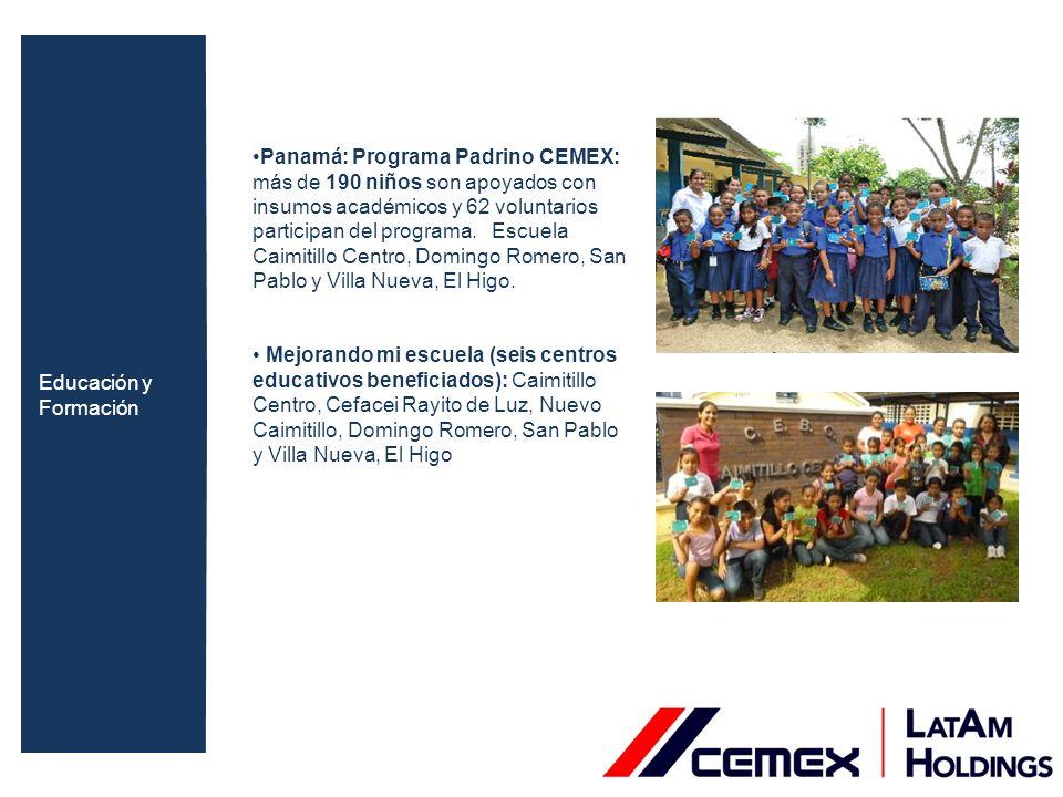 Colombia: Capacitación ambiental, dirigidas a niños de las comunidades: Objetivo: generar conciencia en su comunidad en temas de conservación y reciclaje 480 vigías ambientales y patrulleros ecológicos a nivel nacional Participación en jornadas de reforestación.
