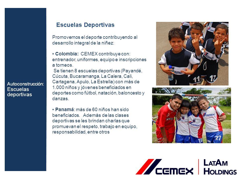 ANSPAC Asociación Nacional Pro Superación Personal: Colombia: Hace más de 10 años CEMEX ha venido apoyando actividades de ANSPAC.