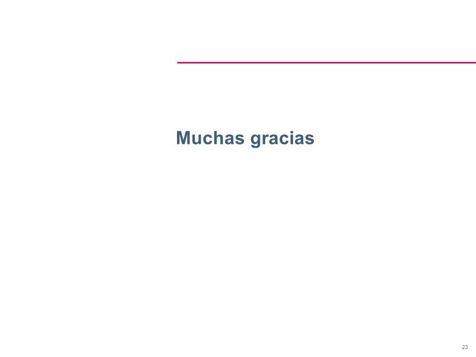 23 Muchas gracias
