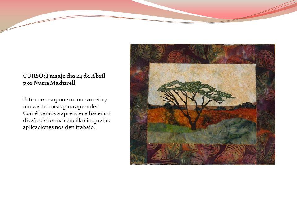 CURSO: Paisaje día 24 de Abril por Nuria Madurell Este curso supone un nuevo reto y nuevas técnicas para aprender. Con él vamos a aprender a hacer un