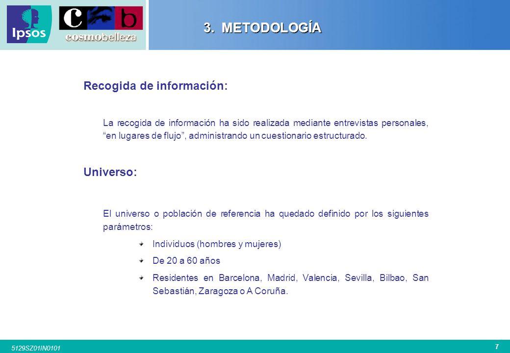 6 5129SZ01IN0101 3. METODOLOGÍA 3. METODOLOGÍA