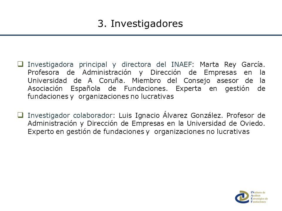 Investigadora principal y directora del INAEF: Marta Rey García. Profesora de Administración y Dirección de Empresas en la Universidad de A Coruña. Mi