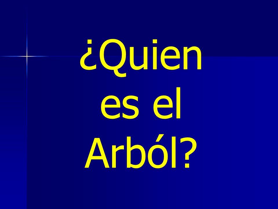 ¿Quien es el Arból?