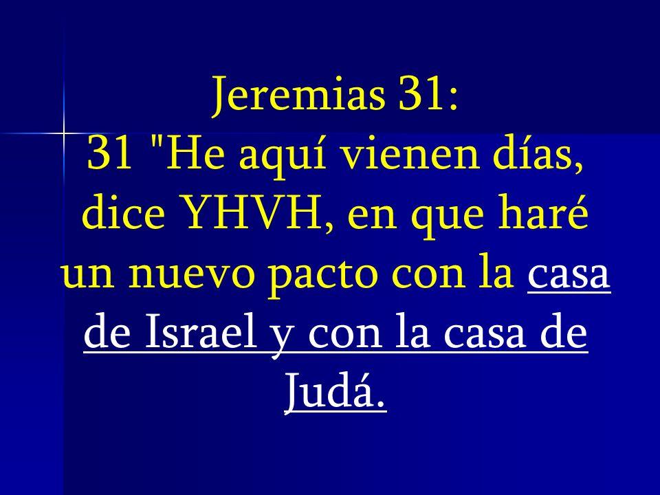 ¿QUIENES SON LA CASA DE ISRAEL Y JUDAH.