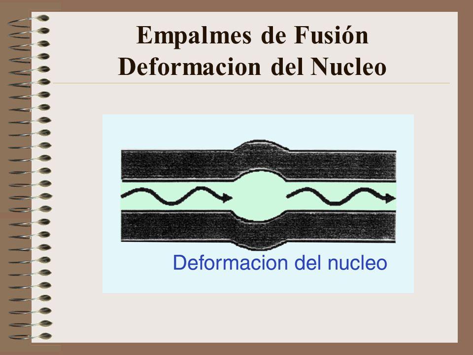Empalmes de Fusión Deformacion del Nucleo