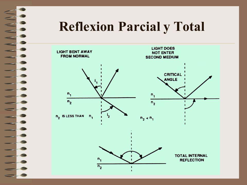 Reflexion Parcial y Total