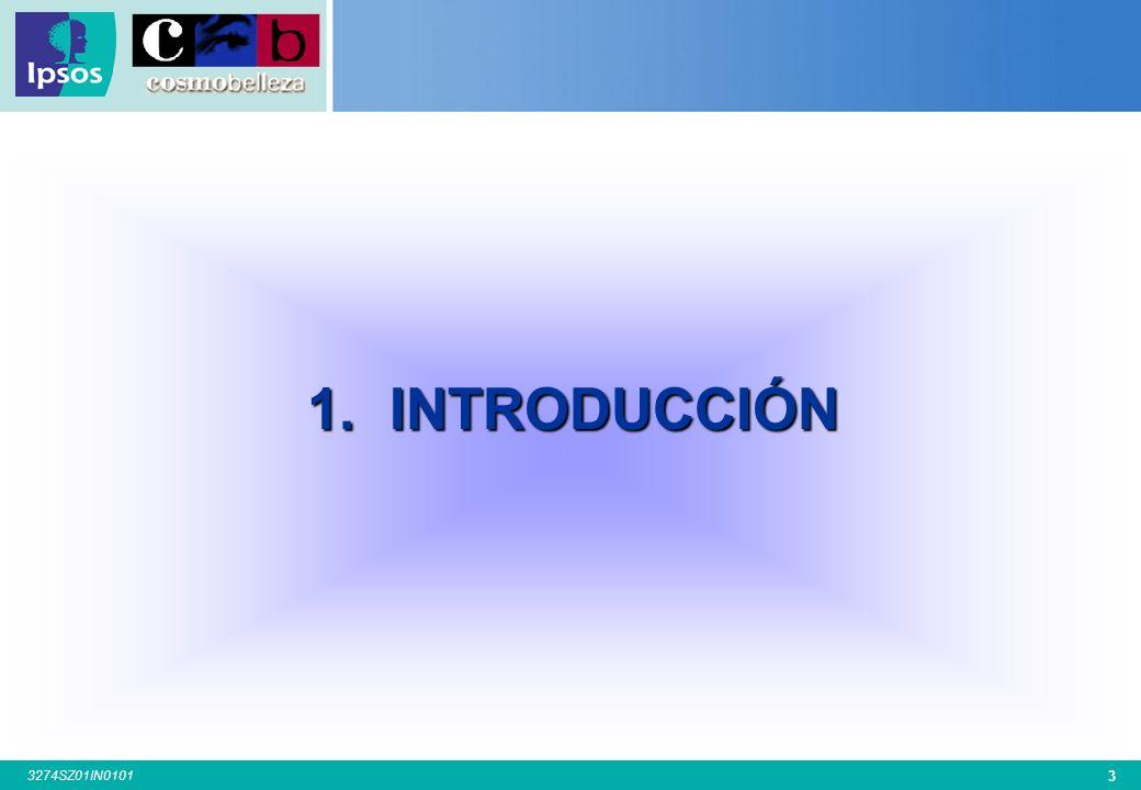 43 3274SZ01IN0101 4.3.8.EDAD DE INICIO EN LOS TRATAMIENTOS DE ESTÉTICA P.15.