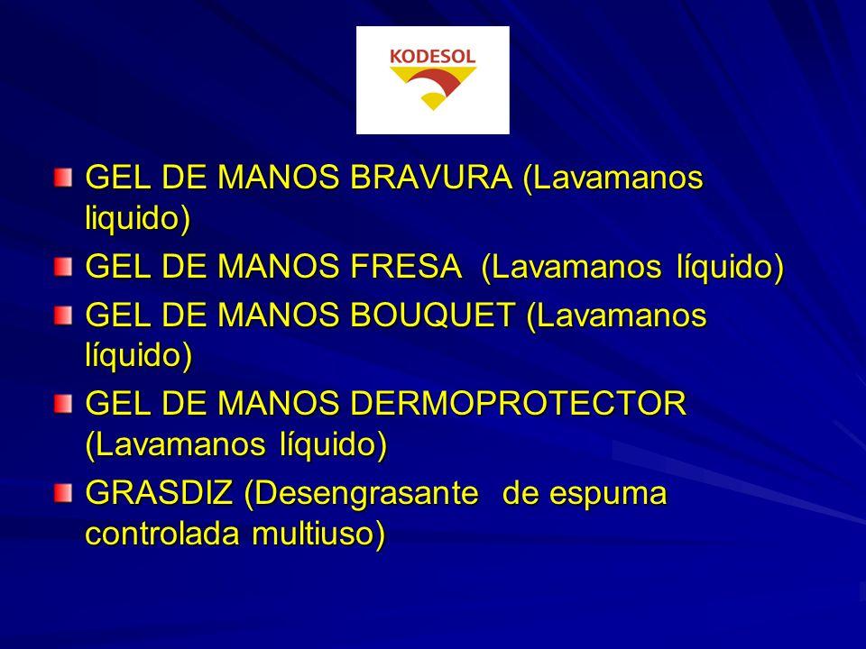 DESATASCADOR (Desatascador de tuberías y desagües) DESENGRASANTE SUELOS A MAQUINA (Detergente para máquinas fregadoras) DETERLEJIA PINO (Superlimpiado