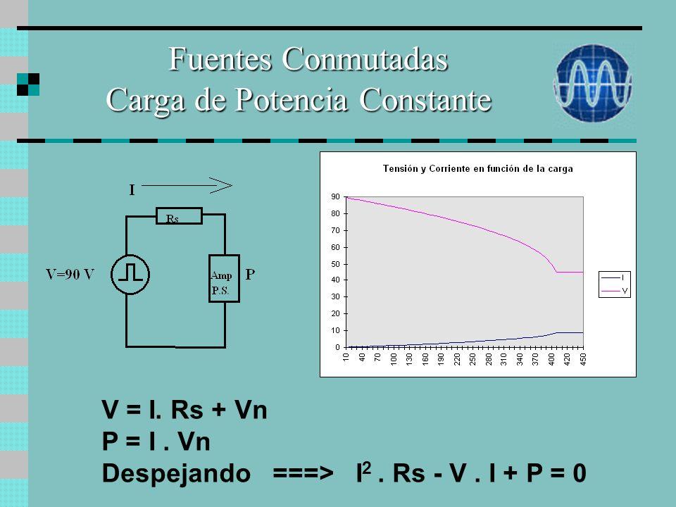 Equipos con Fuentes de Alimentación Conmutadas Tienen un mejor rendimiento que las lineales. Funciona dentro de un amplio rango de tensión de entrada.