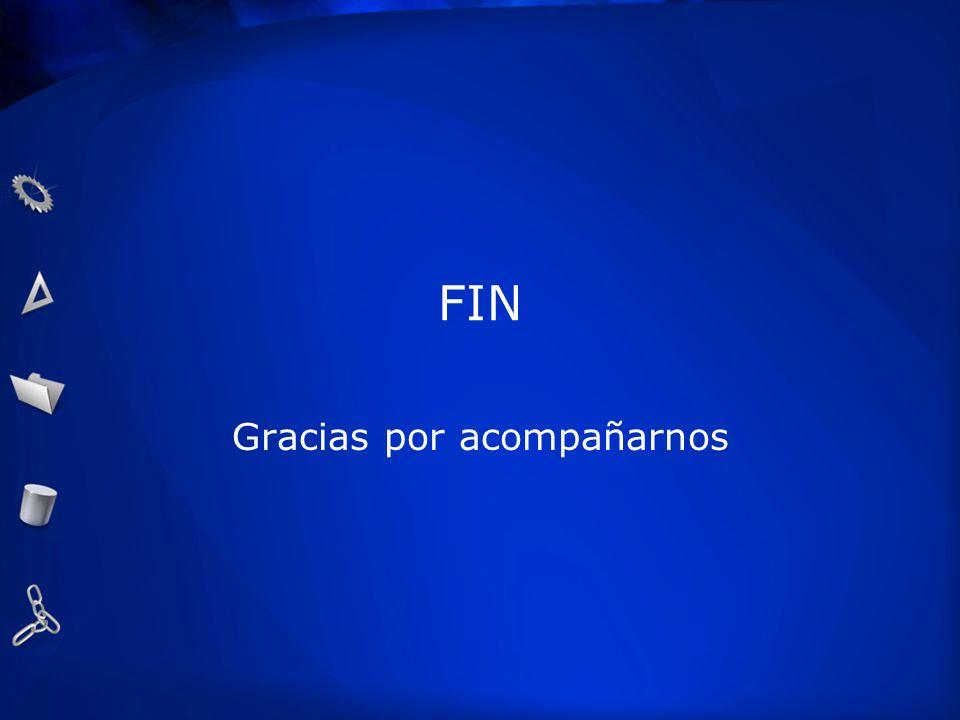 FIN Gracias por acompañarnos