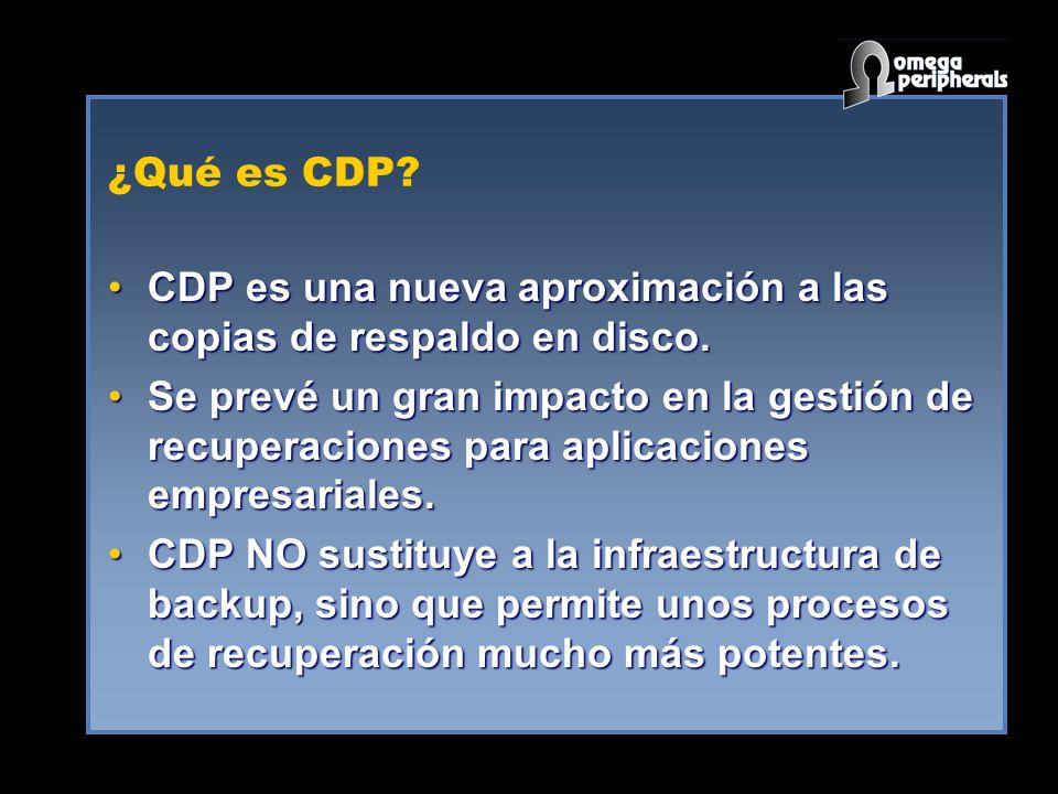 ¿Qué es CDP.