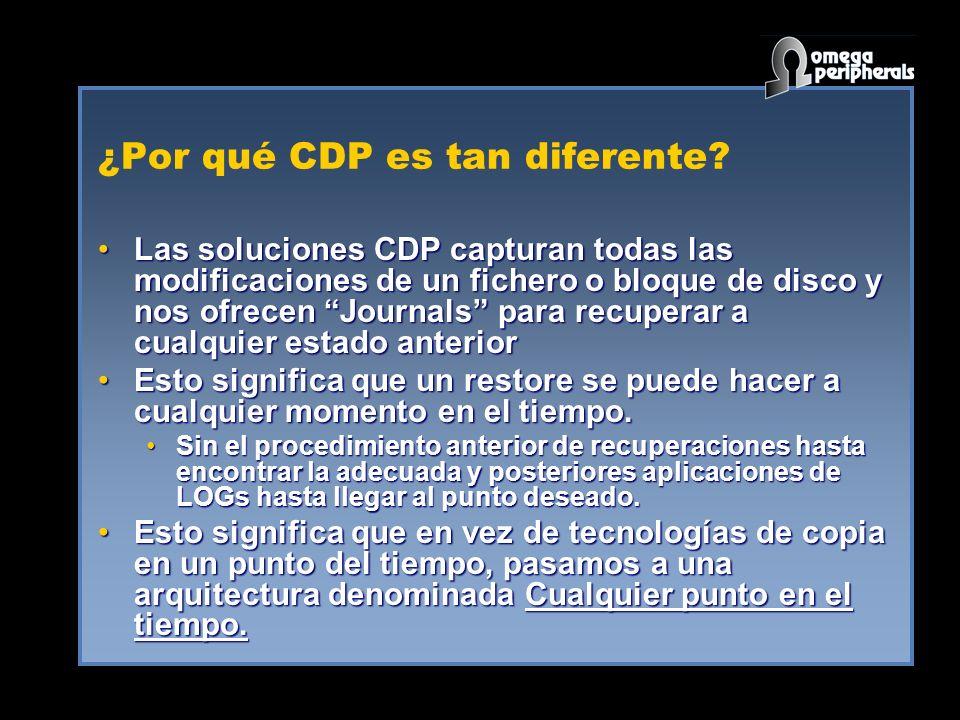 ¿Por qué CDP es tan diferente.
