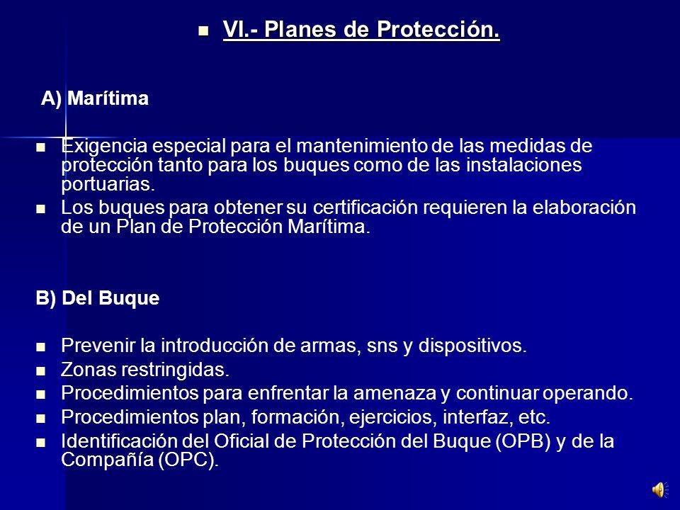 Obligación del Capitán del Buque de obedecer los niveles de protección del Estado contratante. Obligación del Capitán del Buque de obedecer los nivele