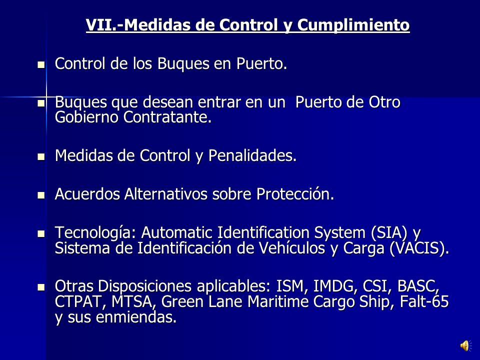C) DE LA INSTALACION PORTUARIA. Plan de Protección. Identificación de posibles amenazas. Priorizar medidas correctivas. Identificar puntos vulnerables