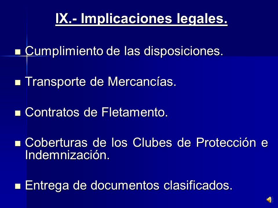 Exigir la información del certificado válido, el nivel de protección y medidas especiales previas. Frente a una negativa se puede expulsar del puerto.