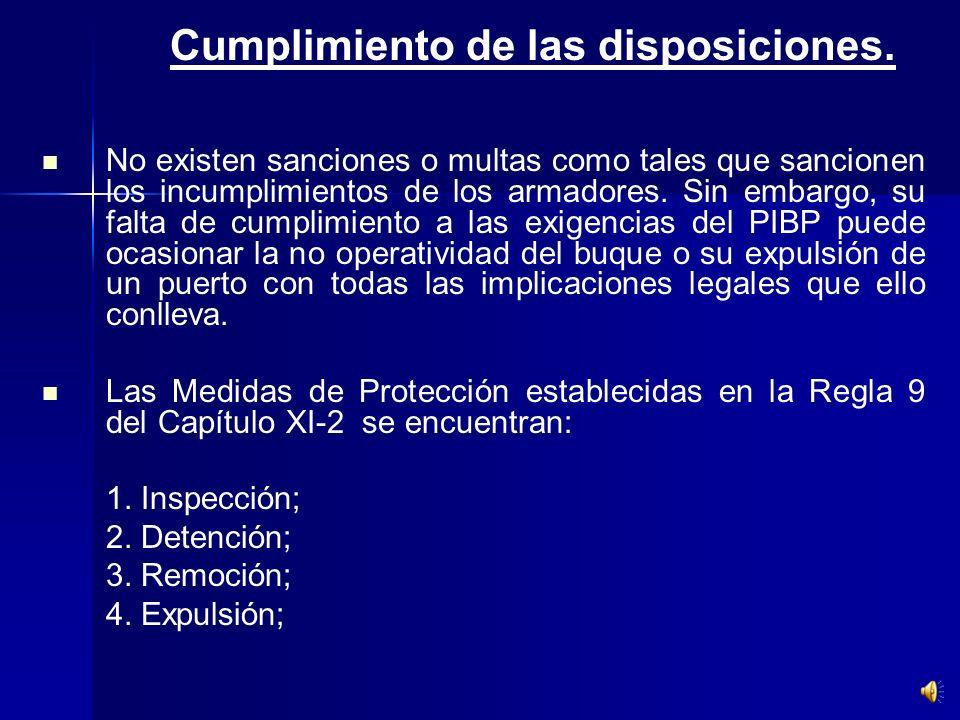 IX.- Implicaciones legales. Cumplimiento de las disposiciones. Cumplimiento de las disposiciones. Transporte de Mercancías. Transporte de Mercancías.