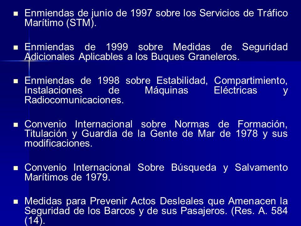 I.- ANTECEDENTES JURÌDICOS Convenio Sobre el Reglamento Internacional para Prevenir Abordajes de 1972. Convenio Internacional para Prevenir la Contami