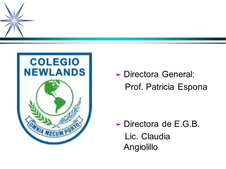 Colegio Newlands Proyecto: Donar es amar Coordinadoras: Prof.