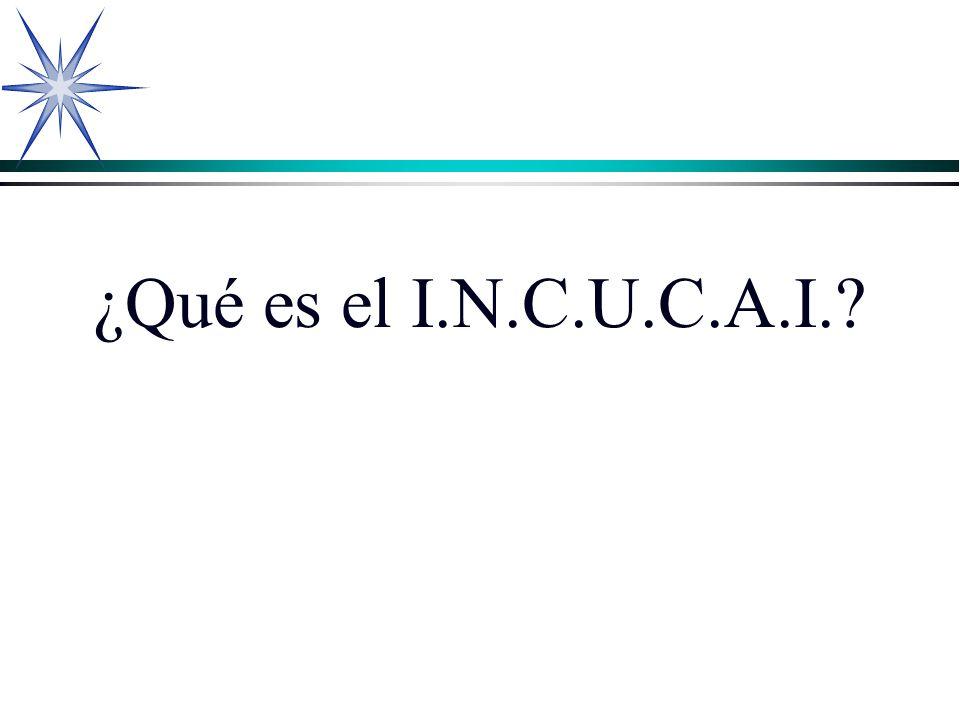 ¿Qué es el I.N.C.U.C.A.I.?