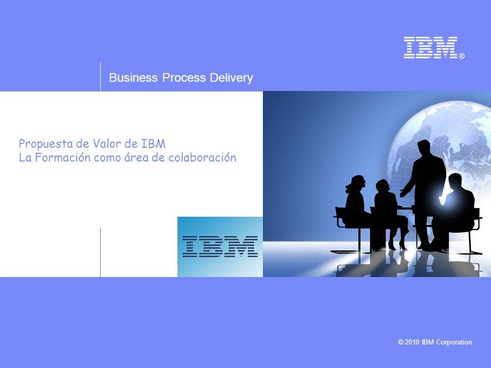IBM Learning Delivery © 2010 IBM Corporation 12 En Resumen: Por qué IBM Formación ESPECIALIZACION y EXPERIENCIA: Somos una Unidad dedicada única y exclusivamente a Formación y capaz de desarrollar todo el ciclo completo de actividades de forma integrada con la máxima eficiencia INFRAESTRUCTURA E INNOVACION: Disponemos de la metodología e Infrastructura más innovadora, respaldada por una gran Organización internacional, la inversión en nuevas tecnologías la hace IBM y nuestros clientes obtienen sus ventajas.