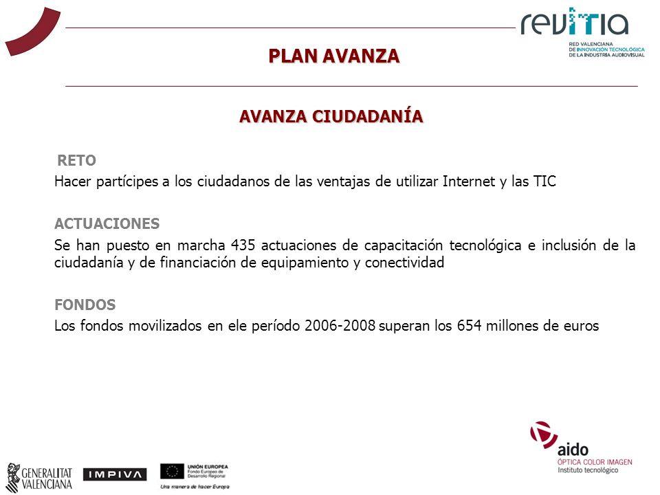 RETO Hacer partícipes a los ciudadanos de las ventajas de utilizar Internet y las TIC ACTUACIONES Se han puesto en marcha 435 actuaciones de capacitac