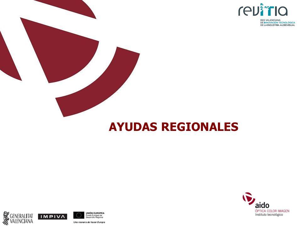 AYUDAS REGIONALES