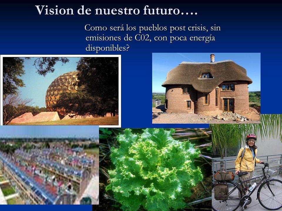Tenemos que trabajar nuestra inhabilidad de crear imagenes positivas del futuro que realmente queremos….
