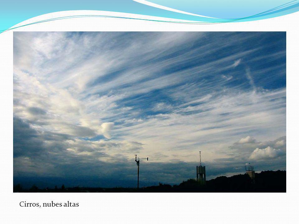 Cirros, nubes altas