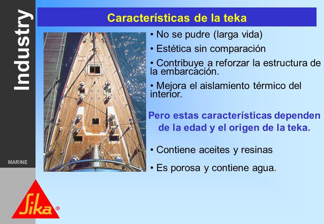 Industry MARINE Calafateado de cubiertas de teka