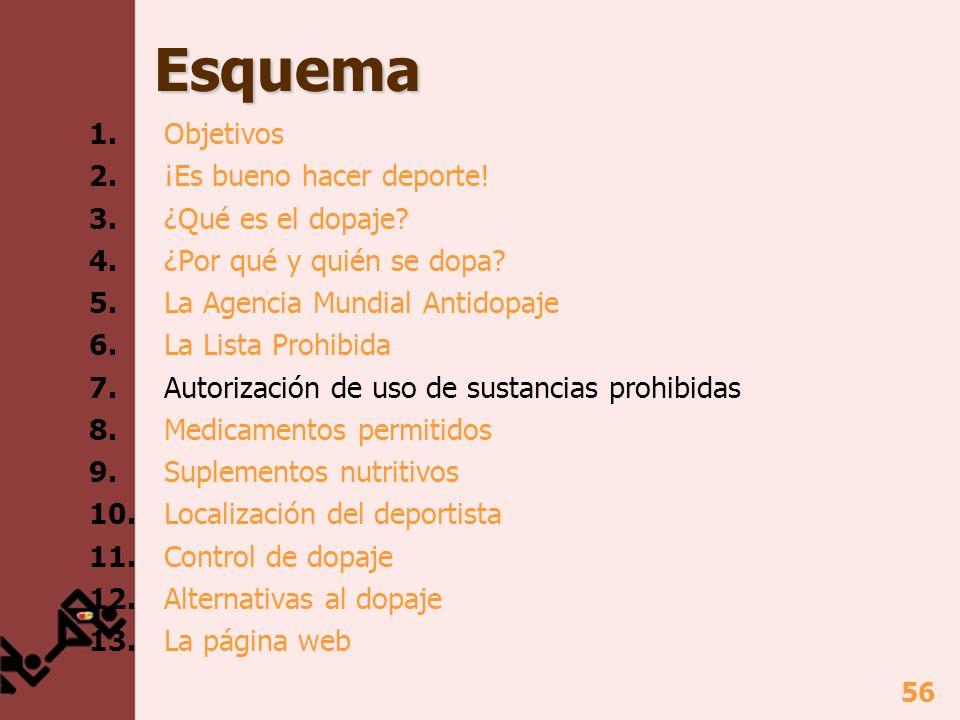 57 7.Autorización de uso de sustancias prohibidas ¿Qué es.