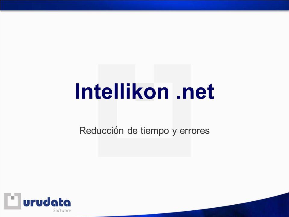 Intellikon.net Reducci ó n de tiempo y errores