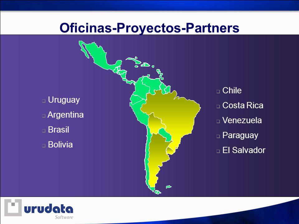 Oficinas-Proyectos-Partners Uruguay Argentina Brasil Bolivia Chile Costa Rica Venezuela Paraguay El Salvador
