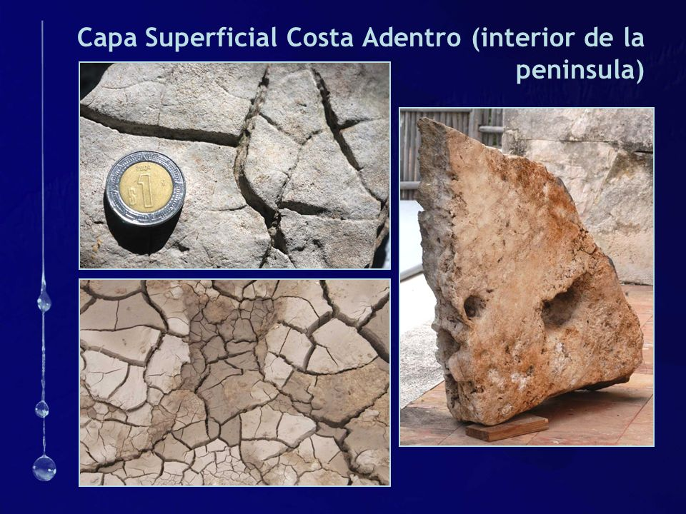 Capa Superficial Costa Adentro (interior de la peninsula)
