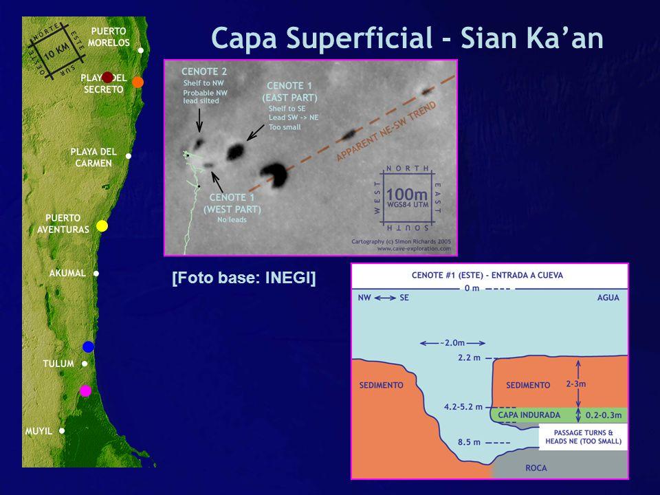 Capa Superficial - Sian Kaan [Foto base: INEGI]