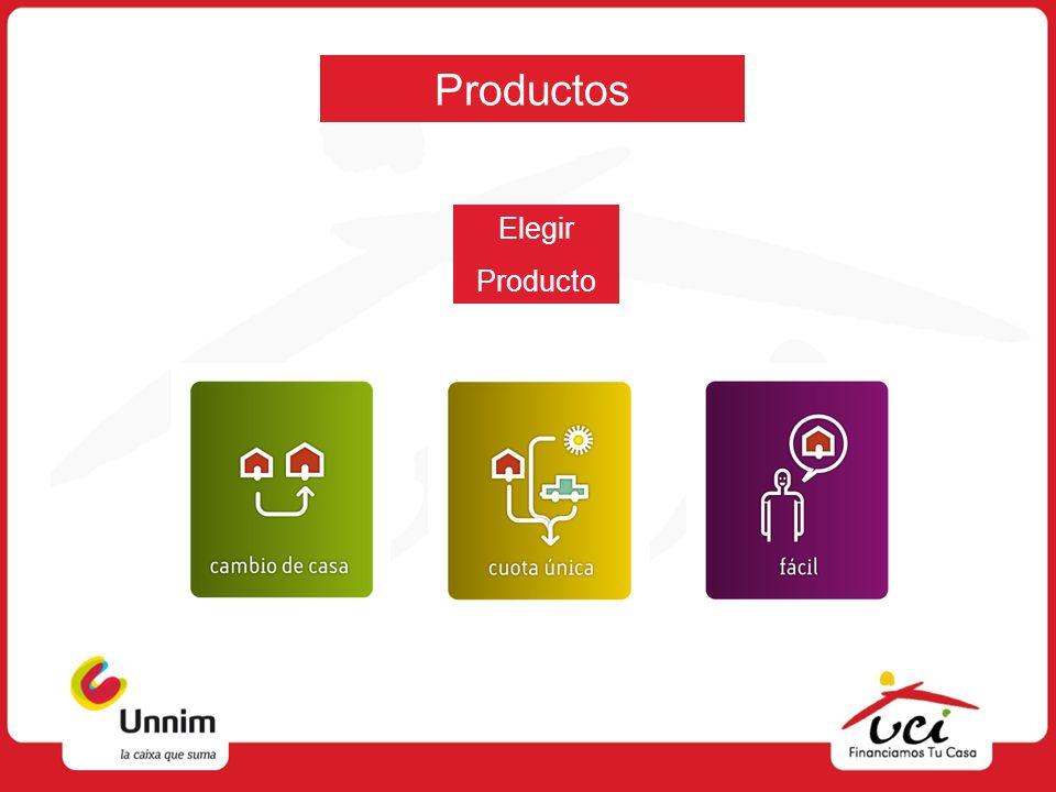 Productos Elegir Producto