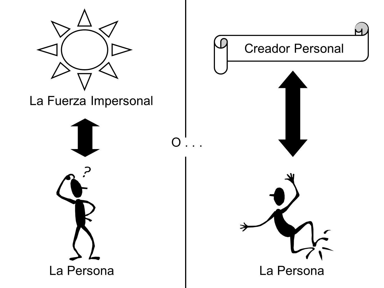 La Persona La Fuerza Impersonal O... Creador Personal La Persona