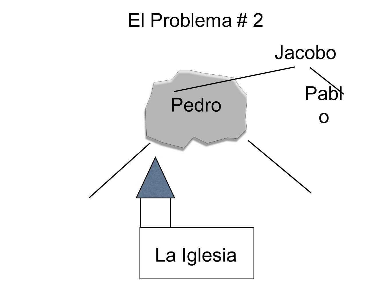 El Problema # 2 Pedro La Iglesia Pabl o Jacobo