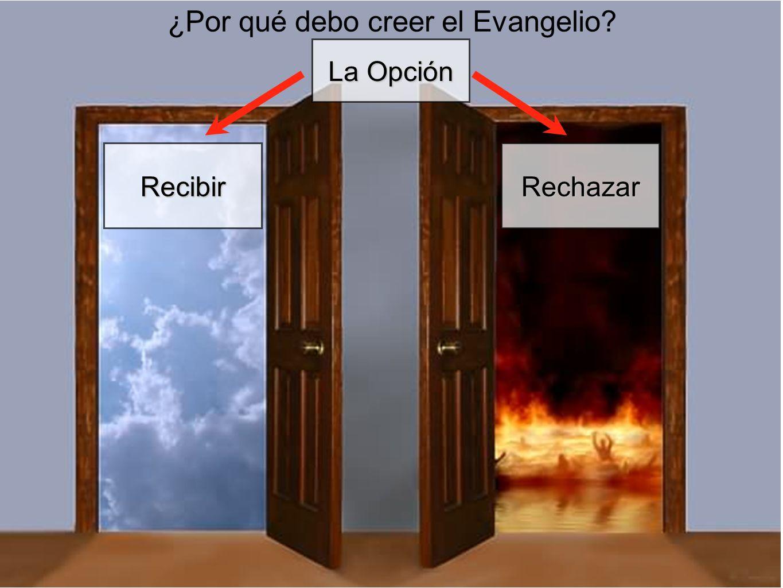 ¿Por qué debo creer el Evangelio? La Opción RecibirRechazar
