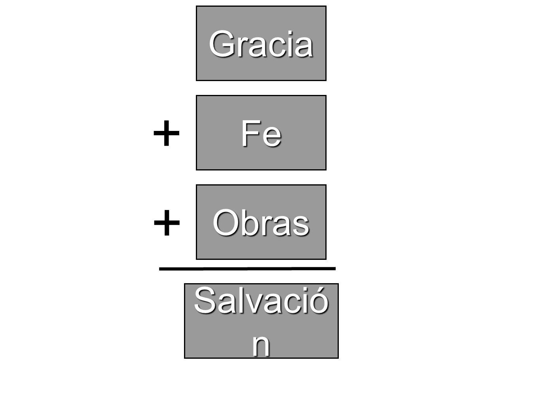 Gracia Fe Salvació n + Obras +