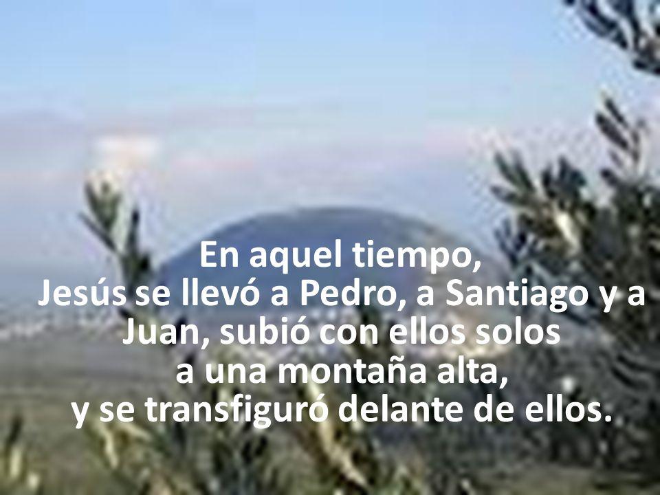 El monte Tabor es conocido como el sitio donde Jesús se transfiguró delante de sus amigos Pedro, Santiago y Juan.