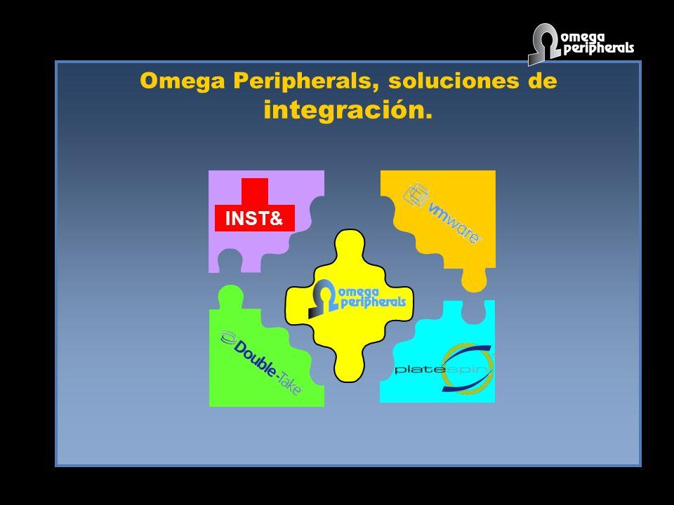 Omega Peripherals, soluciones de integración. INST&