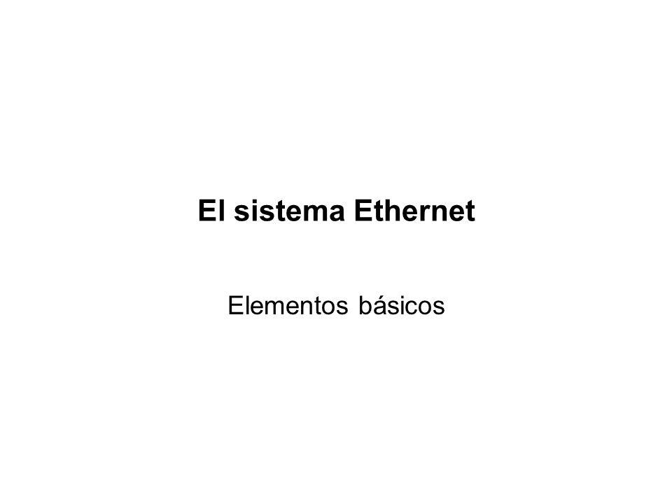 Identificadores IEEE (Medios para Gigabit Ethernet) §1000Base-X: Identifica 1000Base-SX, 1000Base-LX y 1000Base-CX. Los tres utilizan el mismo sistema