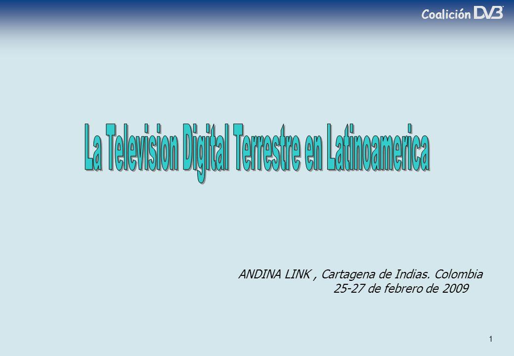 Coalición 1 ANDINA LINK, Cartagena de Indias. Colombia 25-27 de febrero de 2009