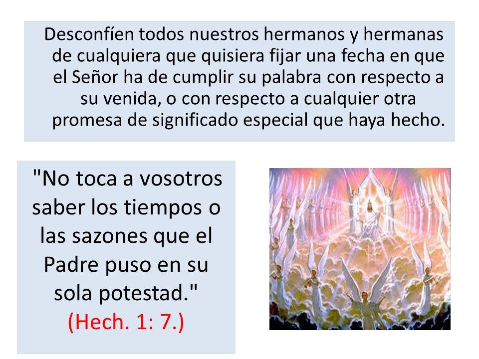 Pueden los falsos maestros parecer muy celosos por la obra de Dios, y gastar recursos en presentar sus teorías al mundo y a la iglesia; pero como mezclan el error con la verdad, su mensaje es engañoso, y extraviará las almas por senderos falsos.
