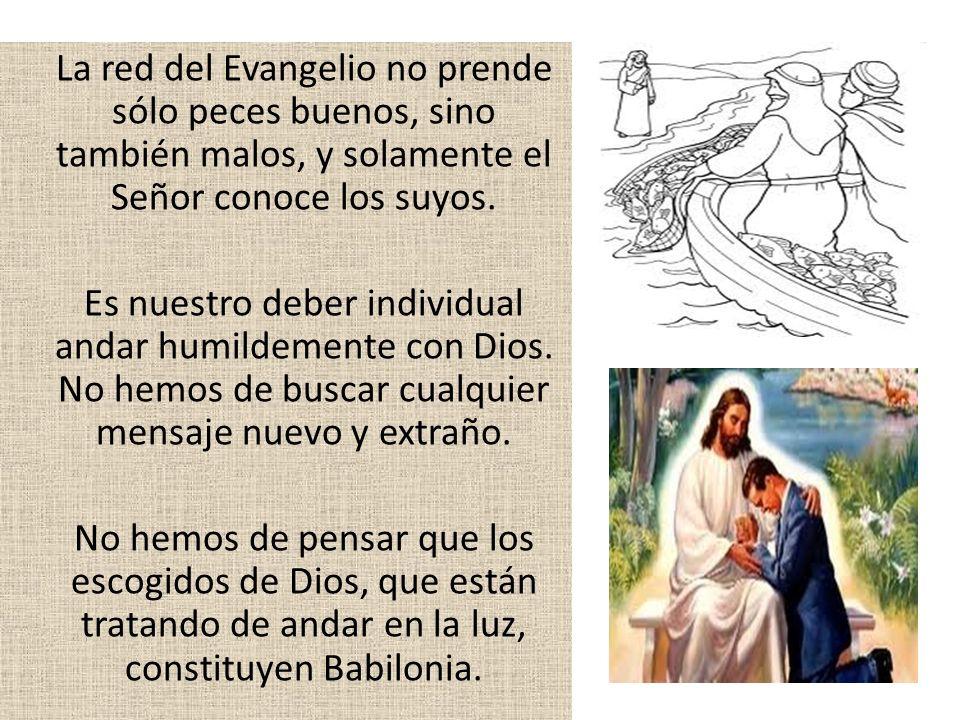 ¿Si la iglesia adventista no es Babilonia, quien es.
